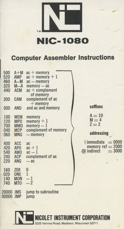 The Fourier Revolution And Nicolet Computers